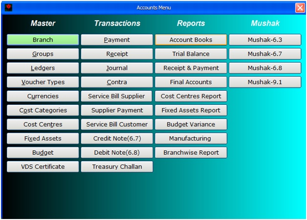 Accounts-Module